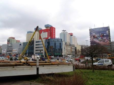 Geotechniczne badania gruntu pod hotel HILTON w Łodzi