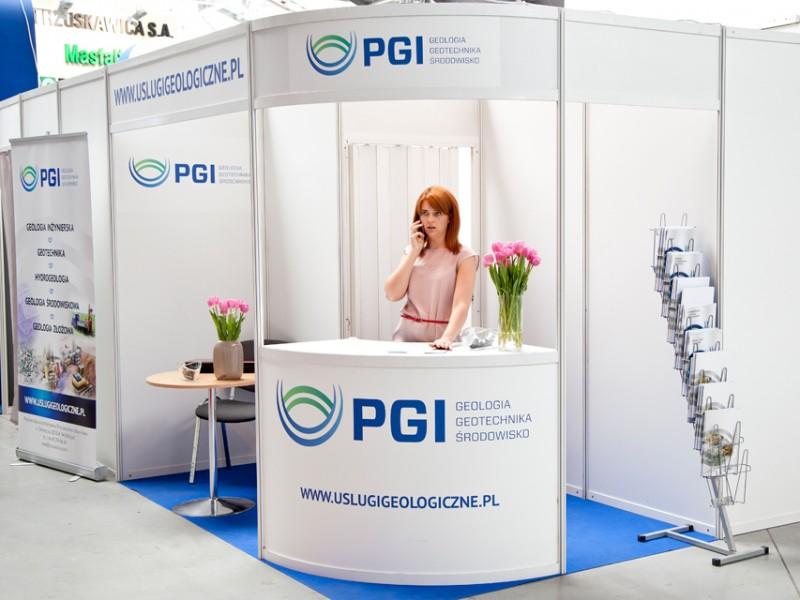 Stoisko firmy PGI