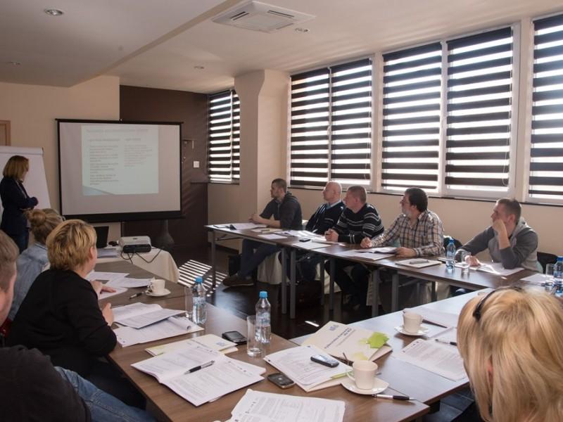 Pracownicy PGI na szkoleniu z zakresu Eurokodu 7